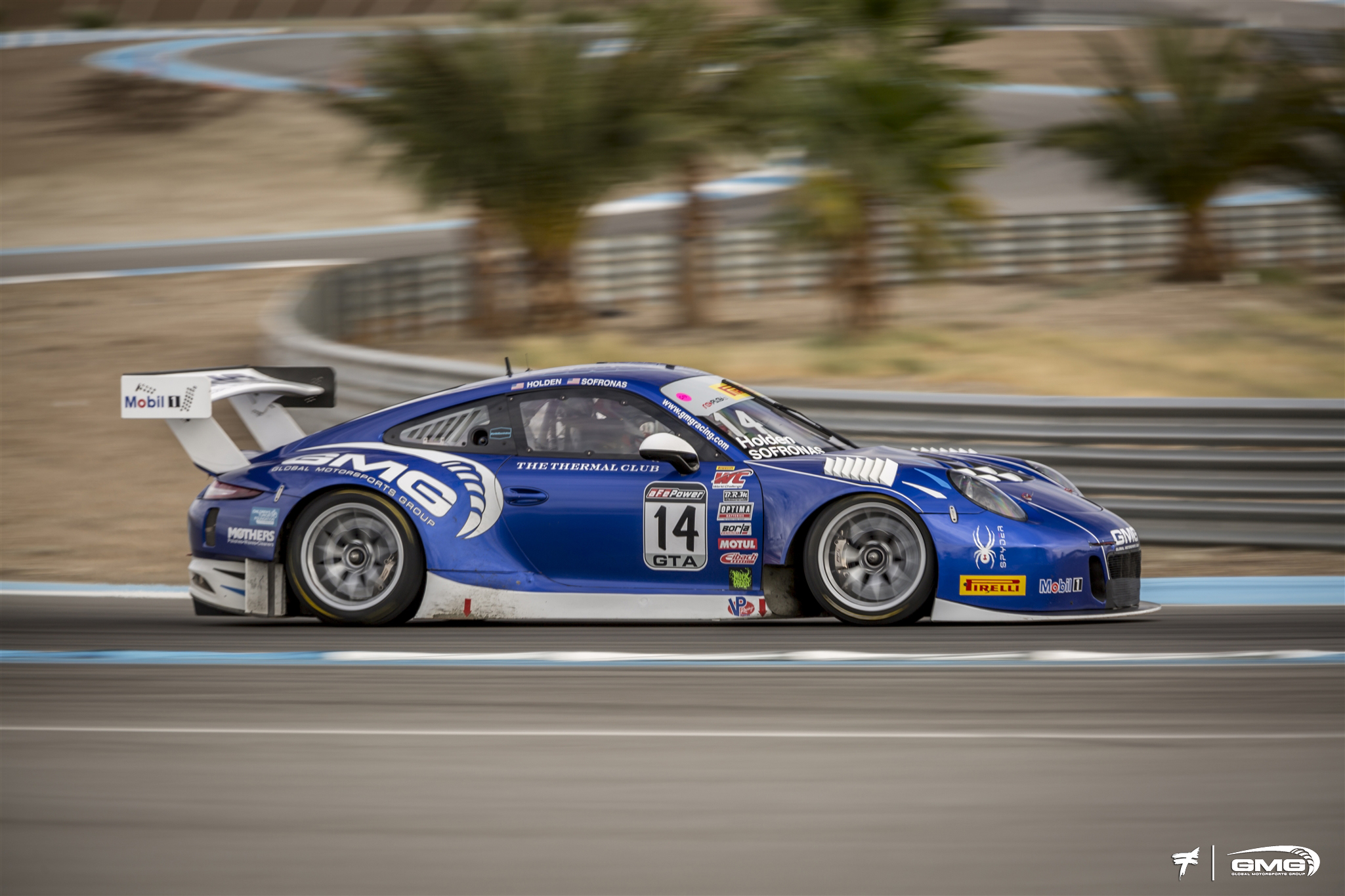 Brett Holden Porsche GT3R