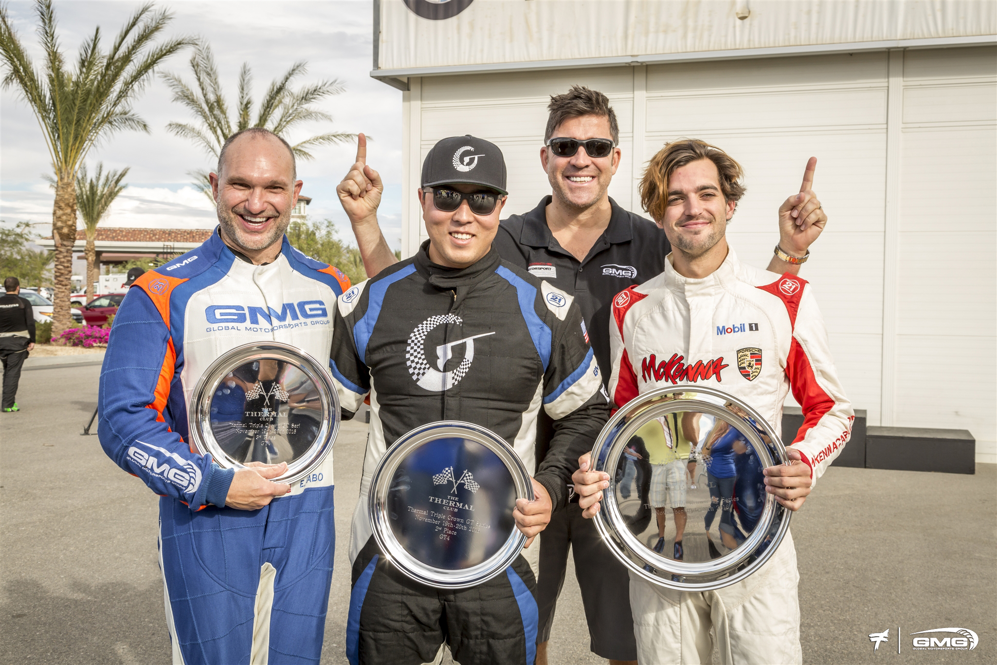 Thermal Club Triple Crown presented by GMG Racing Podium