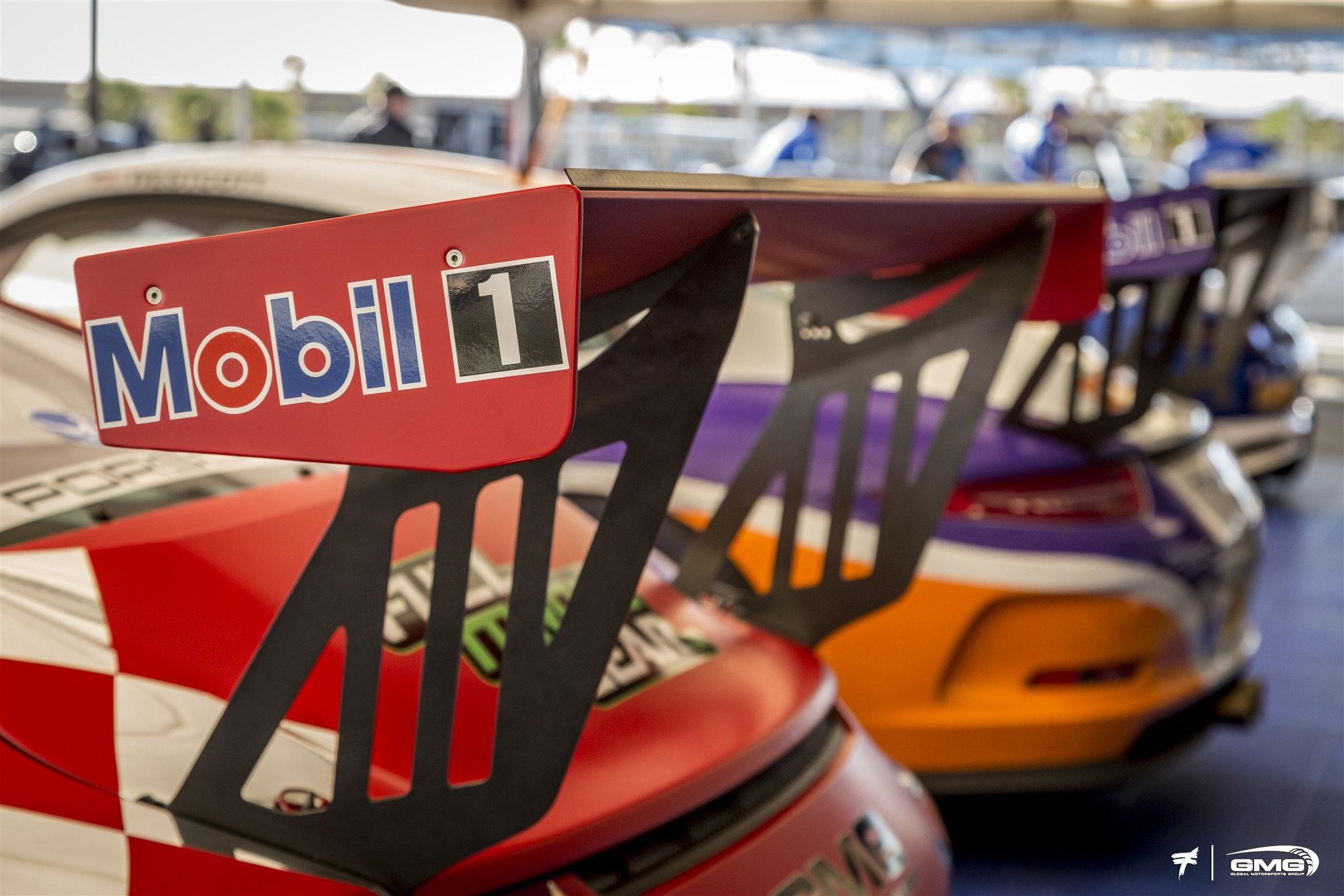 GMG Racing Porsche GT3 Cup
